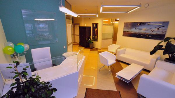 Dental treatment gdansk - interior the clinic