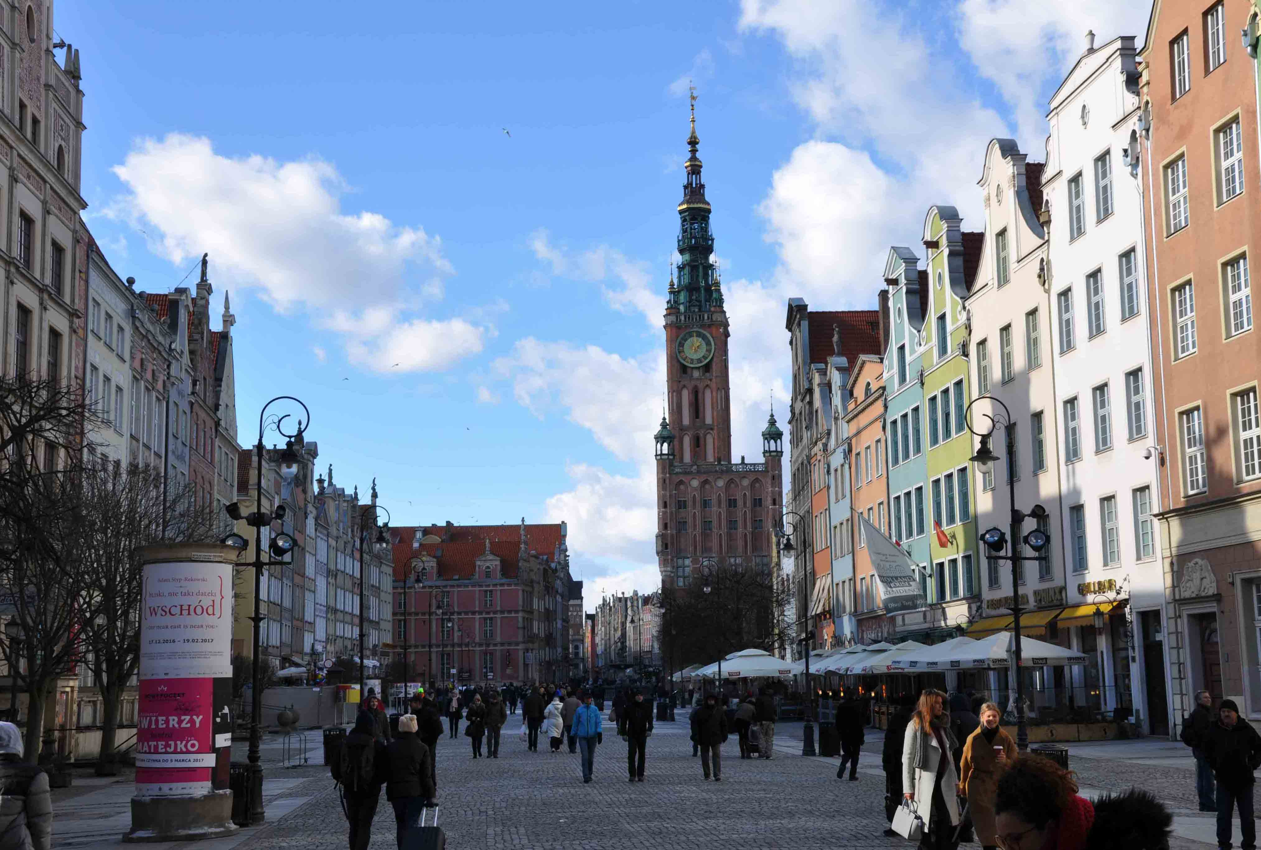 Gdansk Old Town ( Town Hall in the background )