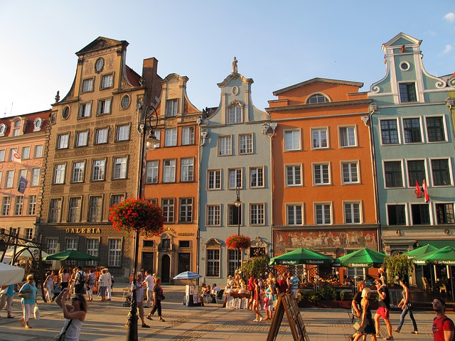 hire a tour guide to show and tell you about the city of Gdansk