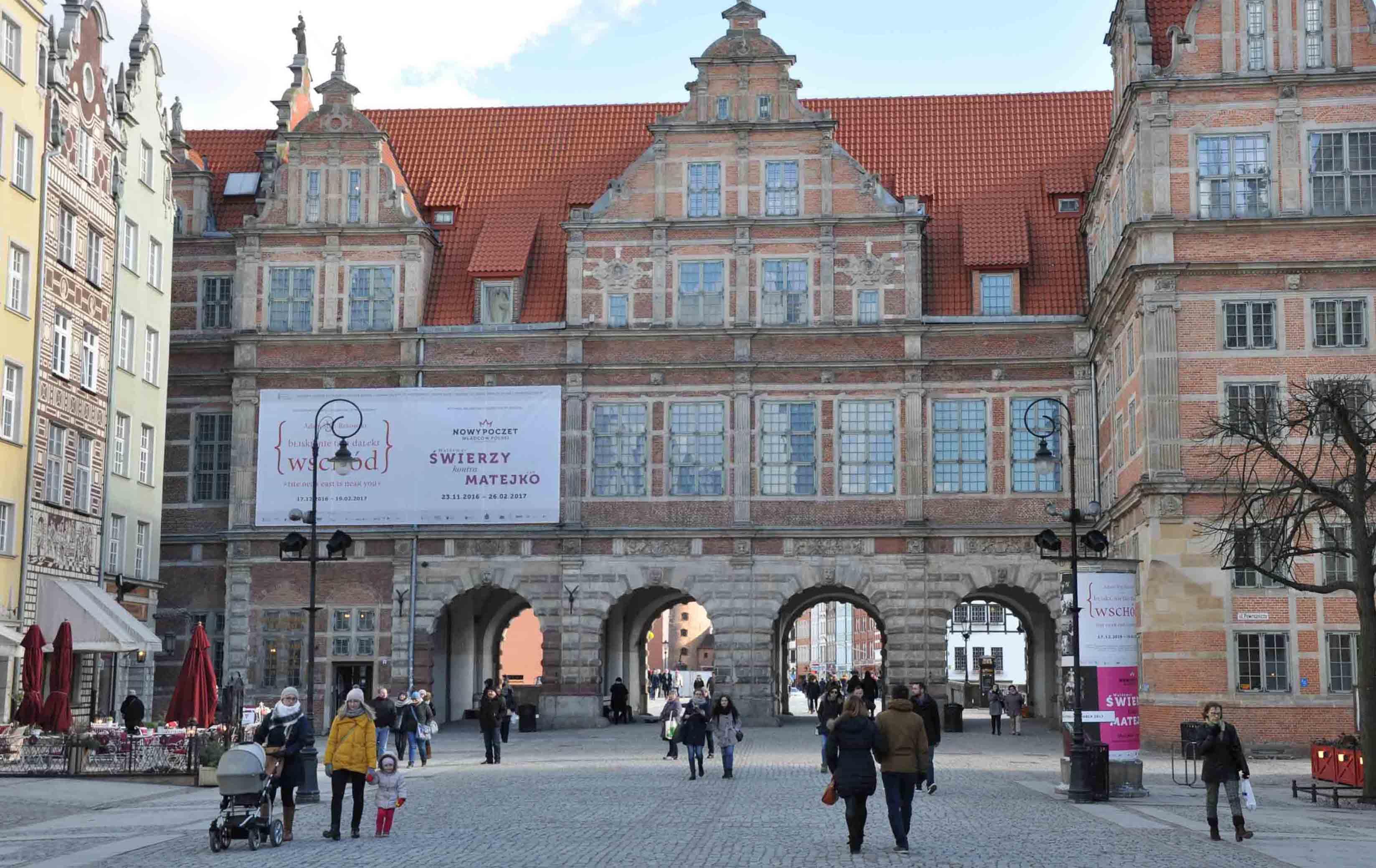 Green Gate of Gdansk