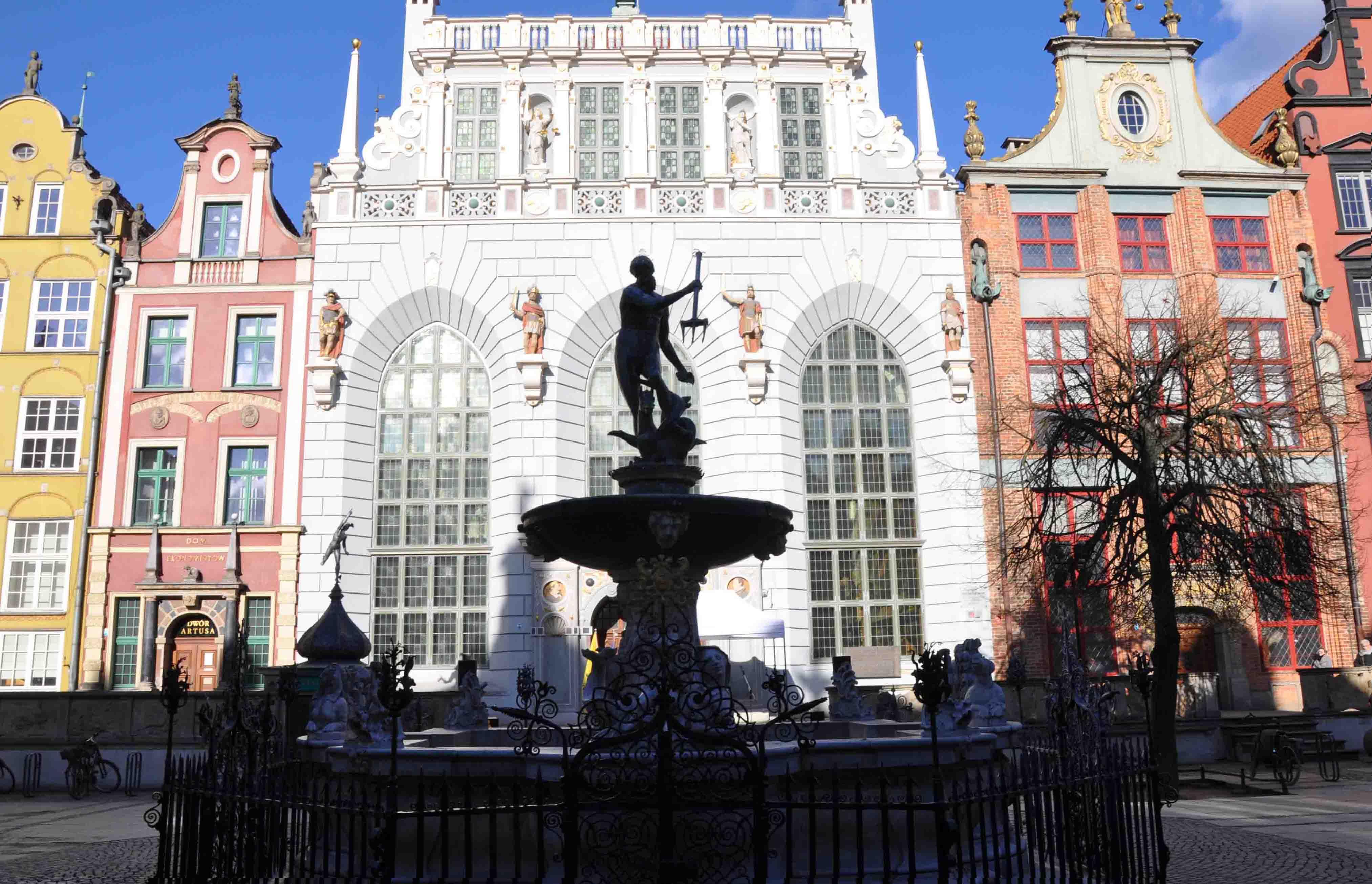 King Arthur's Court in Gdansk