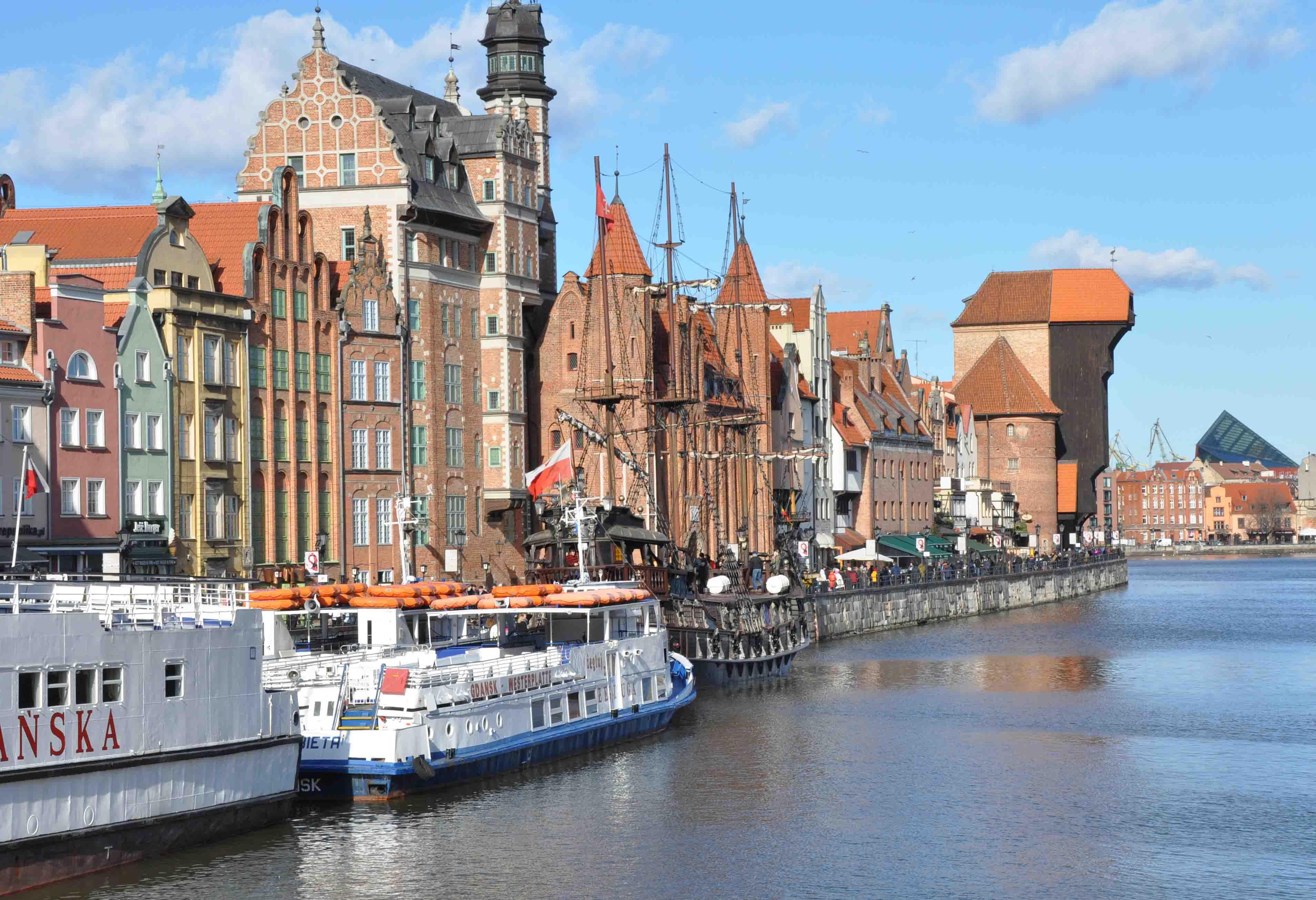 Long Seashore Gdansk