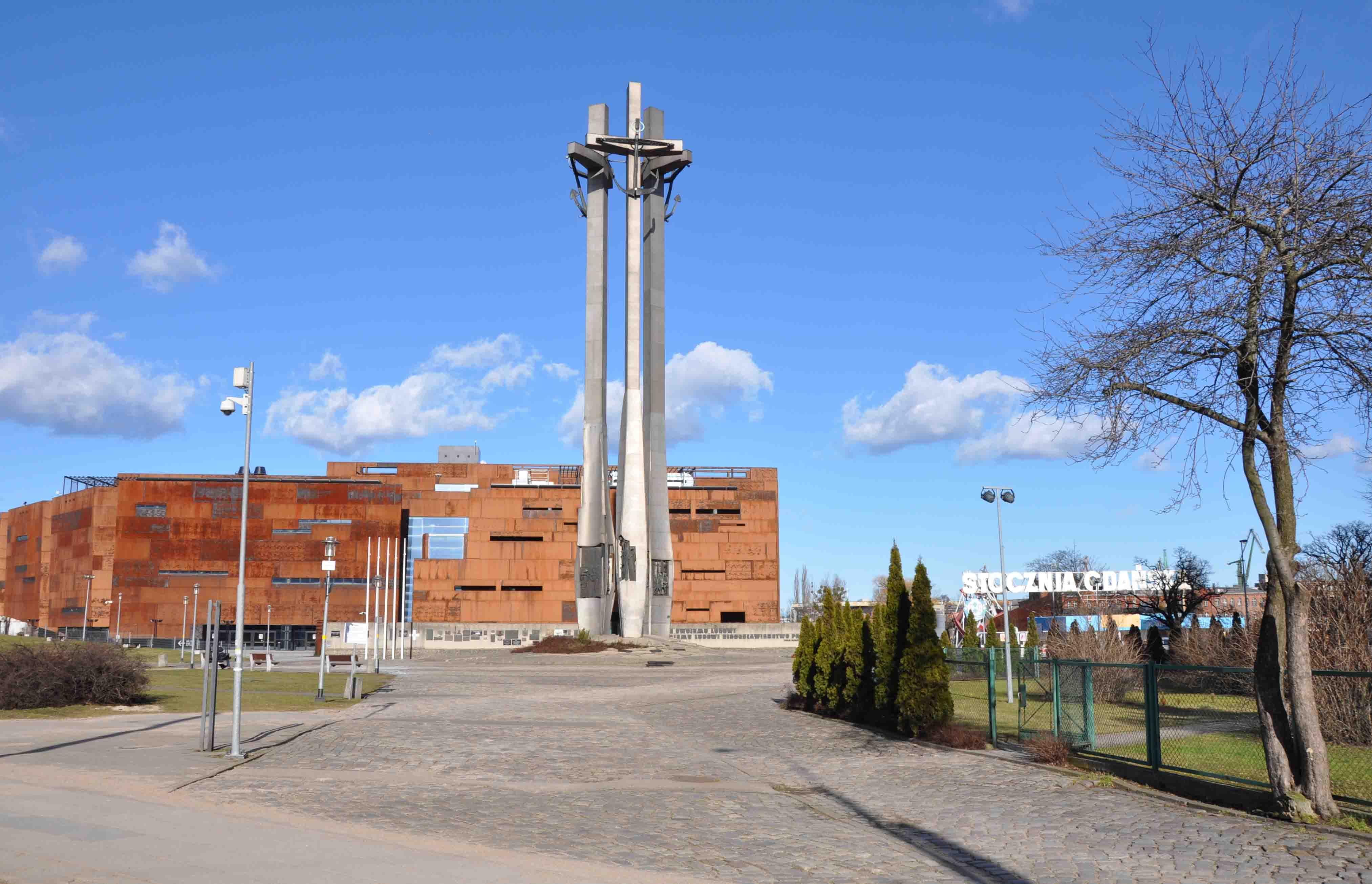 Solidarity Square in Gdansk