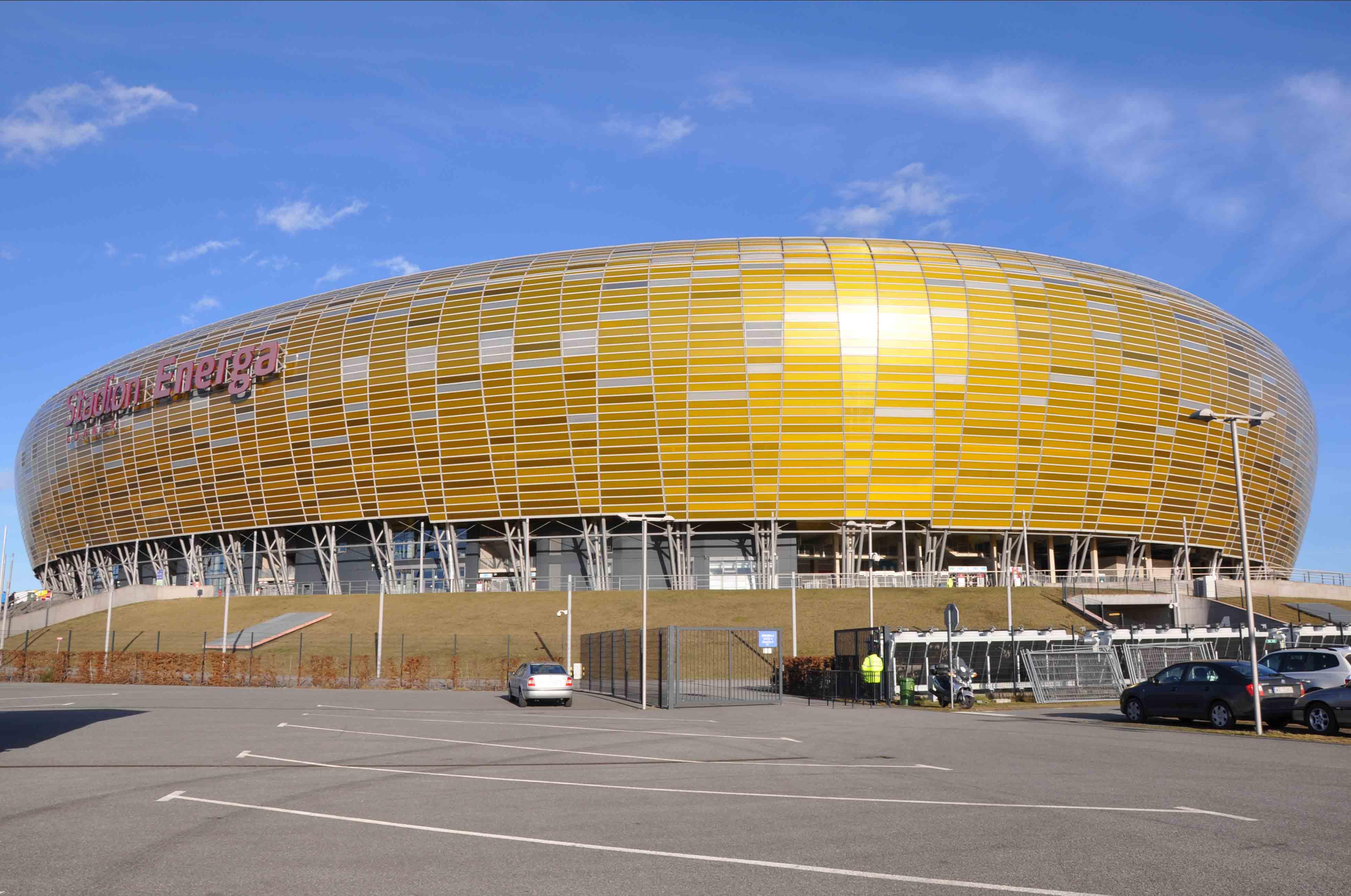 Stadium in Gdansk