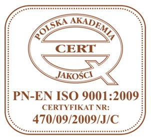 Quality of Dental treatment in Gdansk confirmed by ISO Certificate