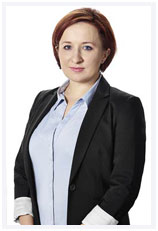 Manager of dental clinic, Marzena Kurek