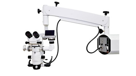 ZEISS surgical microscope used in root canal treatment in Gdansk