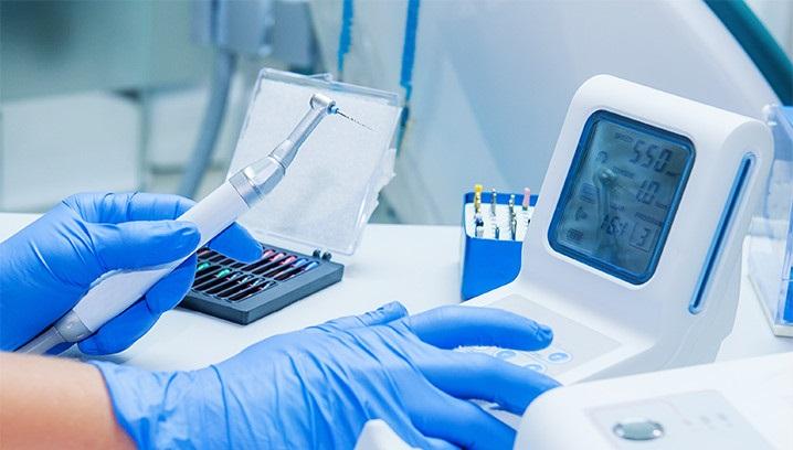 Endodontic micromotor Dentsply
