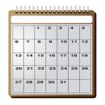 dental visit in calendar, gdansk